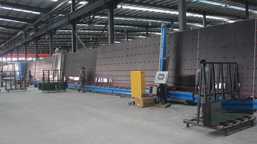 Hollow glass production ..
